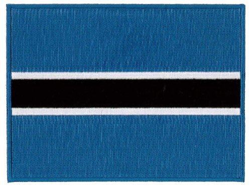 - Botswana Flag Embroidered Patch 12 X 9CM (4 3/4