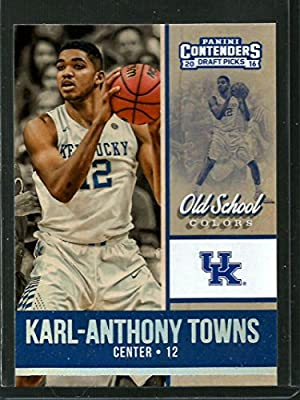 2016-17 Contenders Draft Picks Old School Colors #11 Karl-Anthony Towns NM-MT
