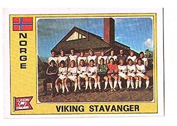No.208 Viking Stavanger Team Group - Norway - Euro Football 76 77 ... 9c07f70ee