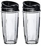 Nutri Ninja 32 oz Tritan Cups with Sip & Seal Lids. Compatible...