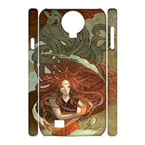 SamSung Galaxy S4 I9500 Little mermaid 3D Art Print Design Phone Back Case Customized Hard Shell Protection DF068326