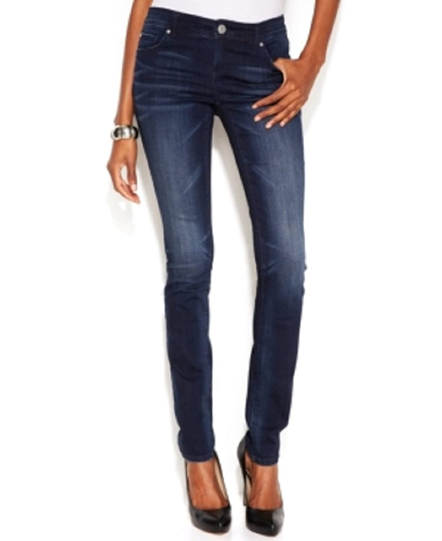 INC International Concepts Skinny Jeans, Dark Wash