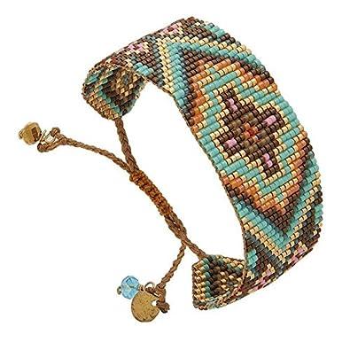 Harmoniemulticolore Bracelet Perles Mishky Bracelet Mishky Manchette tshdQr