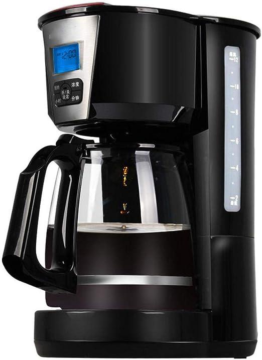 Y&J Cafeteras Programables Máquina De Café con Filtro 1.8 L Reloj/Temporizador Máquina De Café Sistema Antigoteo Filtro Reutilizable Permanente: Amazon.es: Hogar