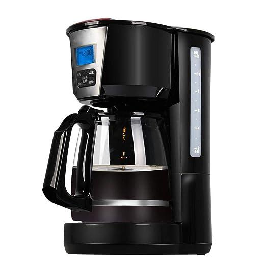 Y&J Cafeteras Programables Máquina De Café con Filtro 1.8 L Reloj ...