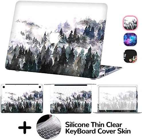 DILIMI MacBook 4 Sided Sticker Protective