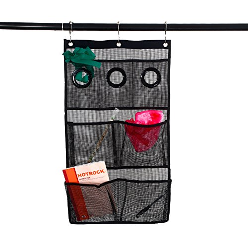 NANAN Quick Dry Hanging Bath Organizer, Mesh Shower Caddy wi