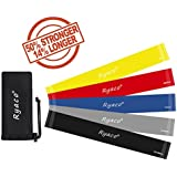 Ryaco [Upgraded 5 Packs] R911 Resistance Loop Bands / Exercise Bands / Fitness Bands / Strength Performance Bands for Stretching Workouts, Fitness Workouts, Home Gyms, Yoga, Pilates, Physical Therapy
