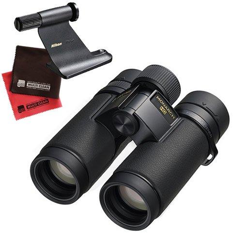 (三脚アダプタークロス付) ニコン 双眼鏡 MONARCH HG 10x30 (MONAHG10X30) モナーク HG 倍率10倍 有効径30mm (Nikon) B07F9GN2XP