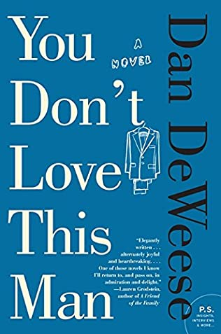 book cover of You Don\'t Love This Man