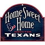 "WinCraft NFL Houston Texans 91871010 Wood Arched Sign, 10"" x 11"""