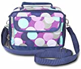 Room It Up Confetti Dot Crossbody Lunch Tote