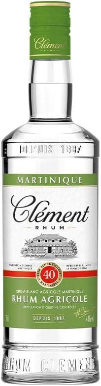 Rhum Clement Agricole Blanc 70cl