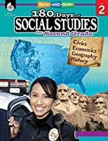 180 Days of Social Studies for Second Grade - Daily Practice Book to Improve 2nd Grade Social Studies Skills - Social Studies Workbook for Kids Ages 6 to 8 (180 Days of Practice)