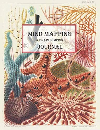 Mind Mapping & Brain Dumping Journal: Coral Reef Notebook to Brainstorm, Plan, Organize Ideas and Thoughts. Map for Creativity and Visual Thinking