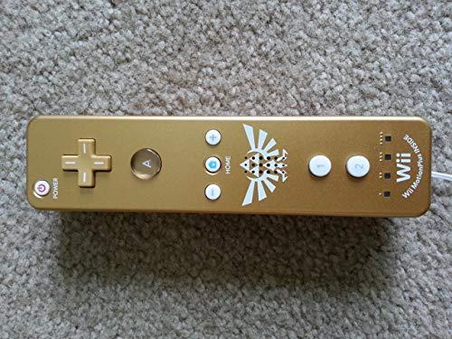 Nintendo Wii Remote Plus, Gold (Zelda Edition) (Certified Refurbished)
