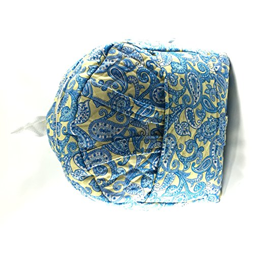 Yellow/Blue Paisley Print Tag Along with Doll Carrier ()