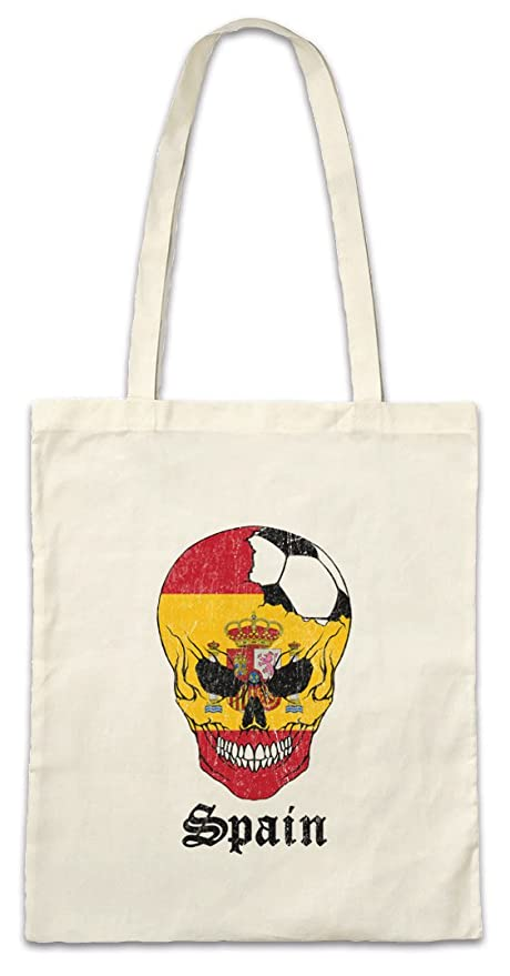 Urban Backwoods Spain Football Skull I Bolsas de la Compra ...