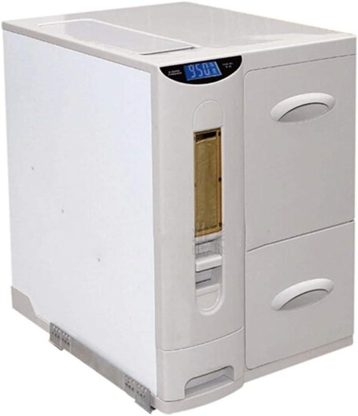 ライス収納キャビネットキッチンキャビネットライスバケツライス収納ボックスキッチン用品 保存容器 (Color : 白, Size : 41*56*49CM/16*22*19inch)