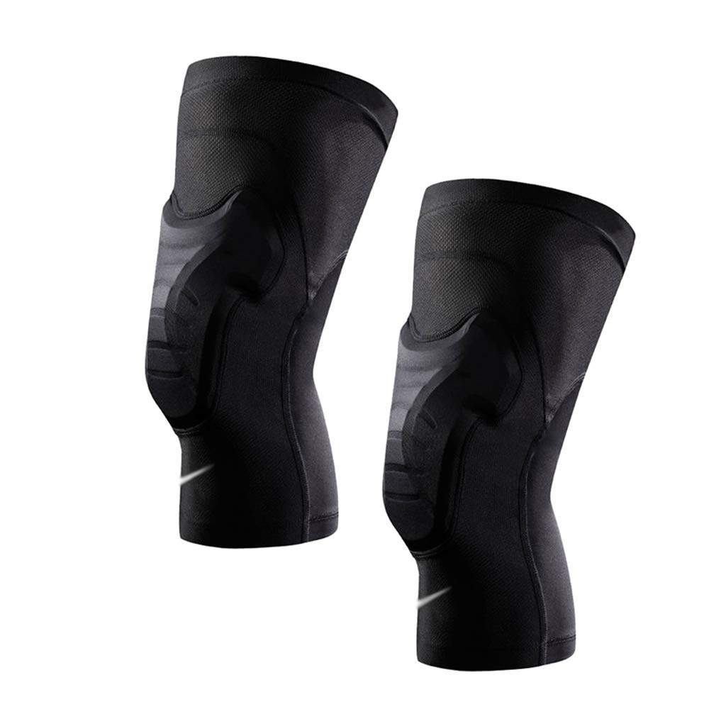TY BEI Kneepad Anti-Collision Knee Pads Sports Fitness Gear Black - Two (Size : Small)