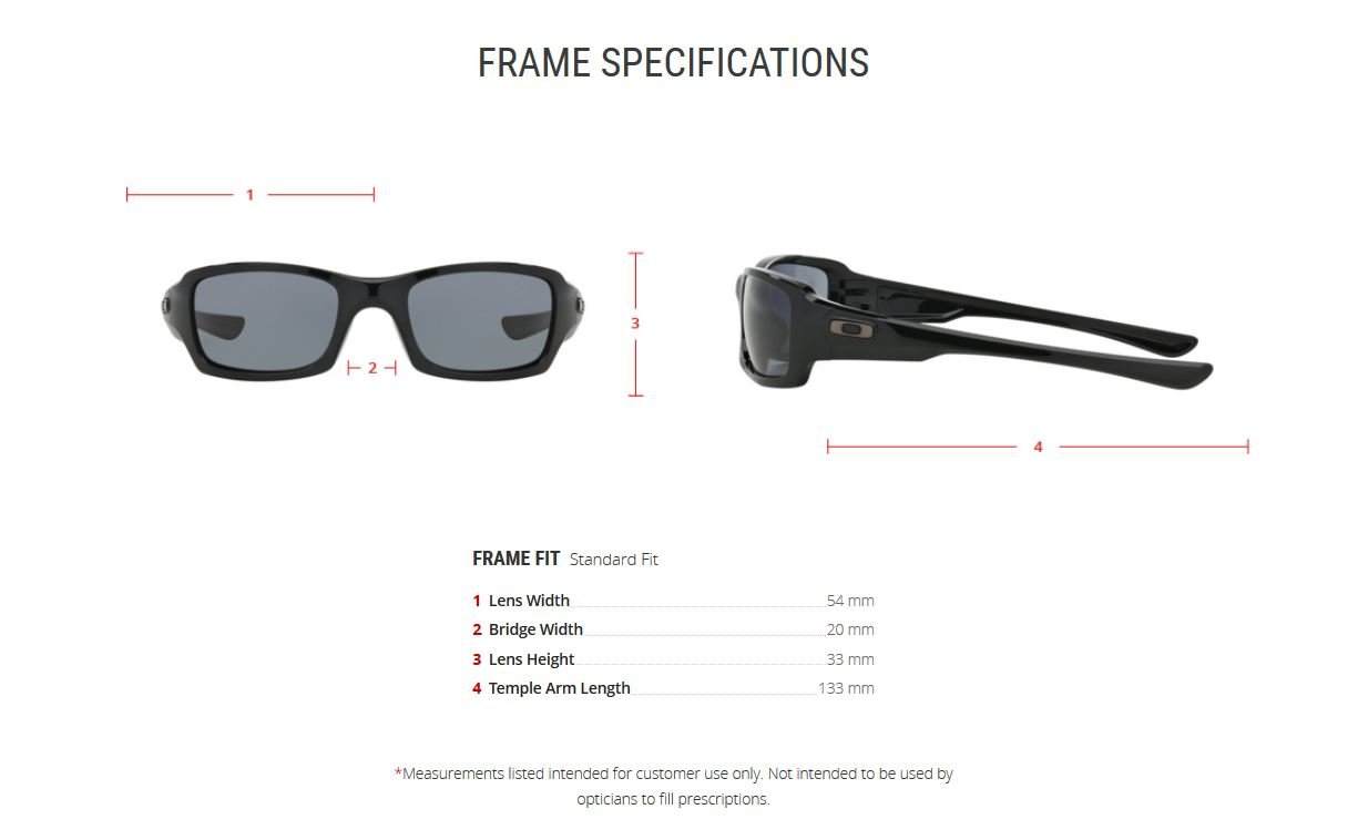 Oakley Men's Fives Squared OO9238-04 Rectangular Sunglasses, Polished Black, 54 mm by Oakley