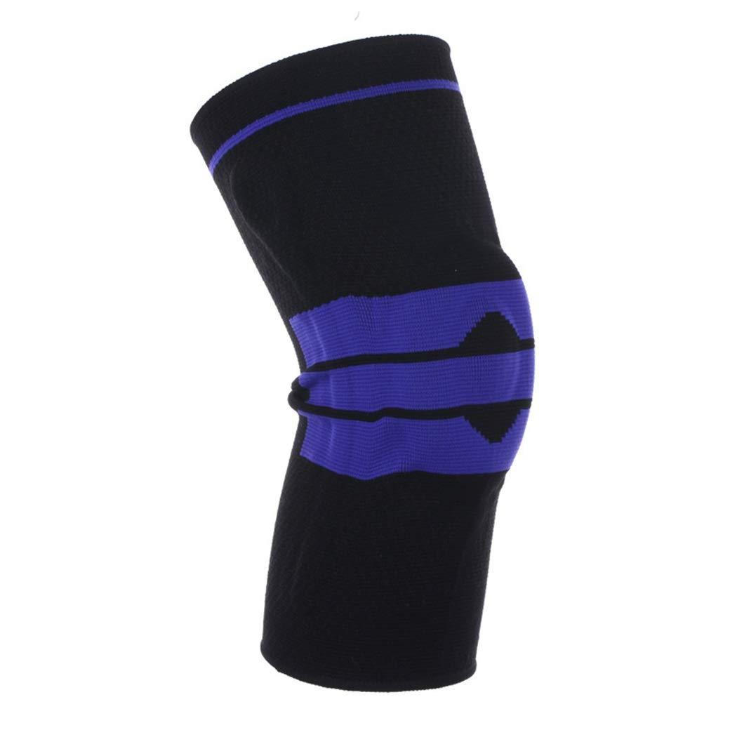 HUIFEI Sport-Knieschützer-Silikon-Federstrick-Knieschützer Im Freien Laufender Basketballbergsteigensport Schutzausrüstung