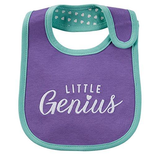 Carter's Baby Girls' Little Genius Teething Bib - One Size
