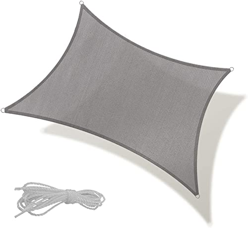 REPUBLIC SUN Sun Shade Sail 12' x 16' Rectangle Canopy