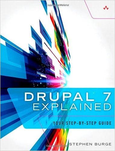 Drupal 7 Explained