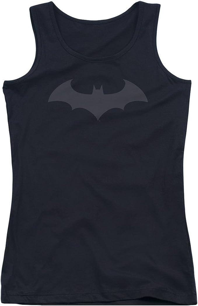 Batman Black Bat Symbol DC Comics Junior Tank Top