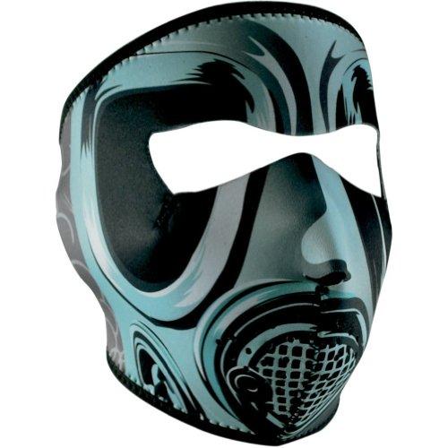 Zan Headgear Neoprene Gas Mask Face Mask - One Size