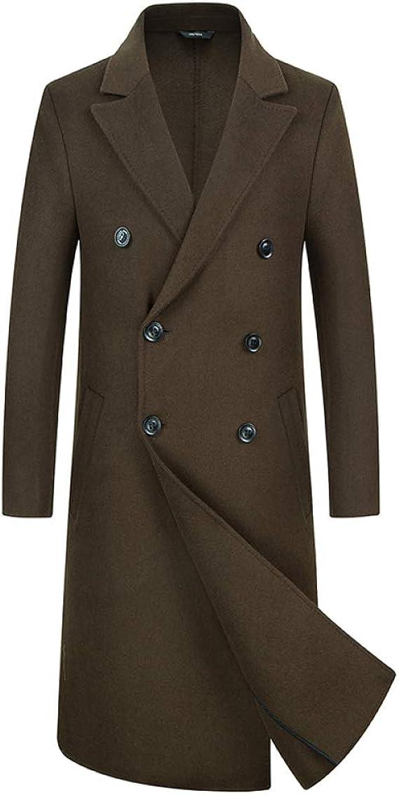 Manteau à Double Boutonnage En Cachemire pour Homme
