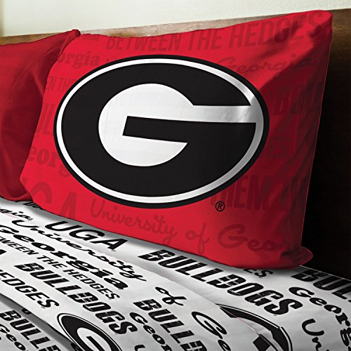 georgia bulldog sheets twin - 7
