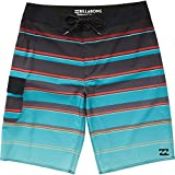 Billabong Men's All Day X Stripe Boardshorts Aqua 31