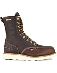 Thorogood 1957 Series Men's 8' Moc Toe, MAXwear Wedge Waterproof Safety Toe Boot
