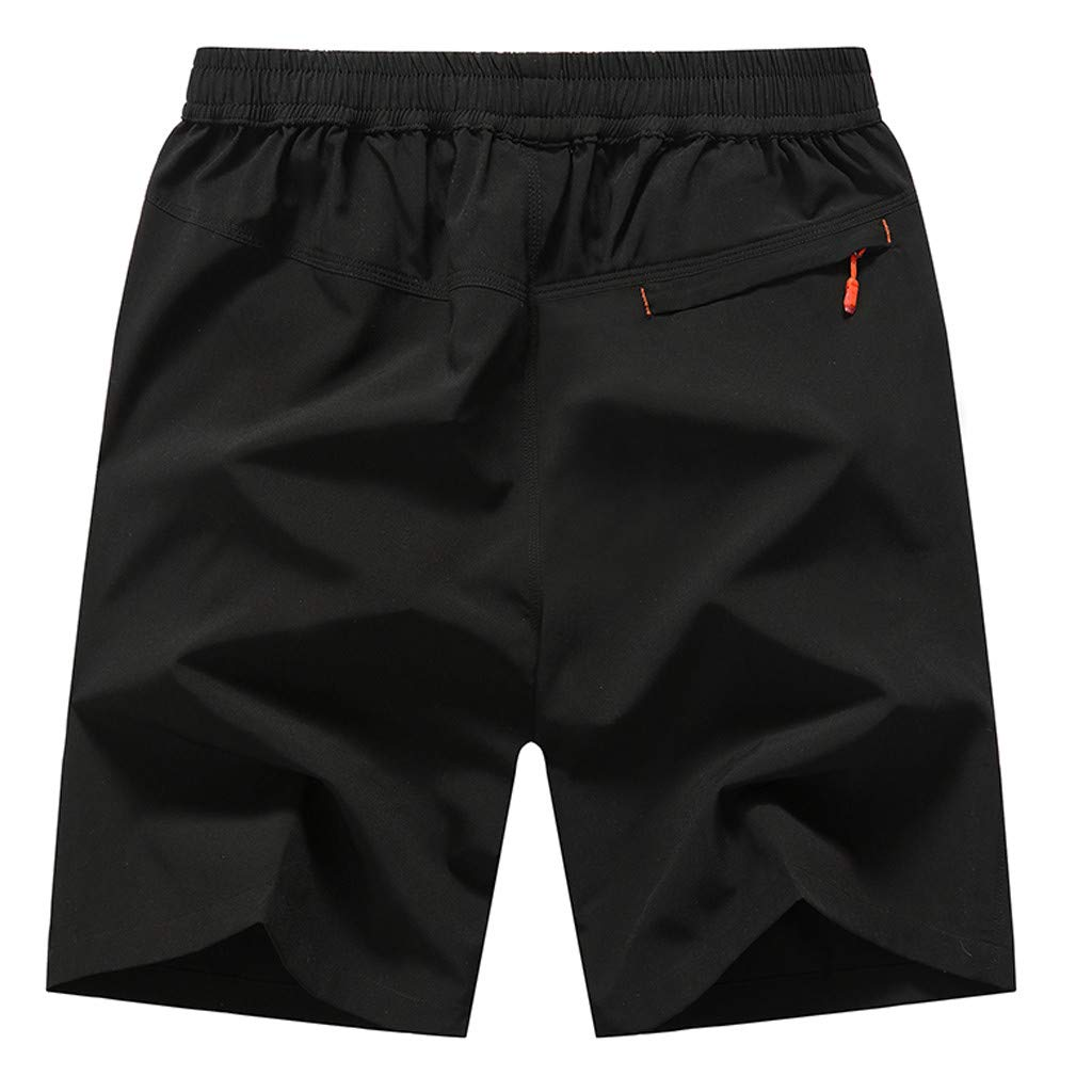 Ugood-Summer Mens New Outdoor Sports Leisure Running Shorts in Summer Loose Beach Trouse