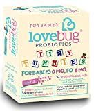 Cheap Lovebug Tiny Tummies Probiotic, 30 Packets, Infant and Baby probiotics Support for Babies 0-6 Months Old, for Intestinal and Digestive Health – Helps Reduce Crying and Fussiness