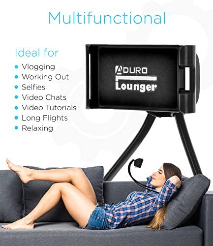 Aduro Phone Neck Holder, Gooseneck Lazy Neck Phone Mount to Free Your Hands for iPhone Android Smartphone 51WN0Xgcs4L