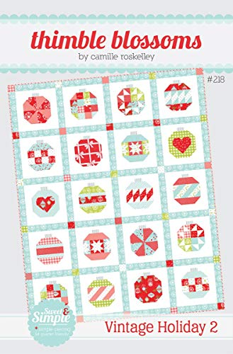 218 Vintage Holiday 2 Pattern ()