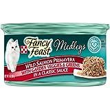 Purina Fancy Feast Medleys Wild Salmon Primavera With Garden Veggies & Greens Adult Wet Cat Food - 3 oz. (Pack of 24)