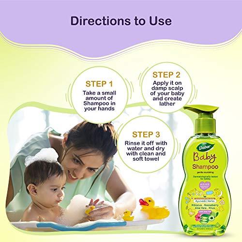 Dabur Baby Gentle Nourishing Shampoo 200ml at best price