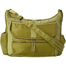 Lug Hula Hoop Carry-all Messenger, Grass Green, One Size