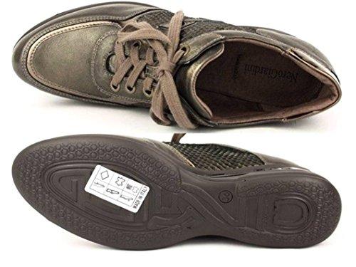Nero Giardini - Zapatillas de Piel para mujer bronce