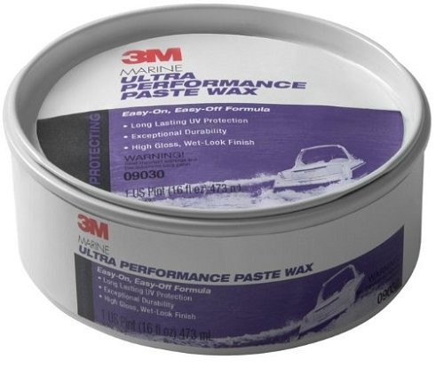3 X 3M Marine Ultra Performance Paste Wax (9.5-Ounce)