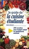 Le guide de la cuisine étudiante par Sabine Duhamel