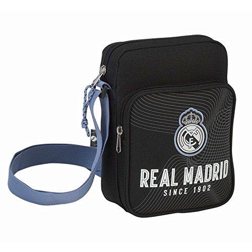 Safta REAL Safta REAL BLACK MADRID MADRID Schultertasche Schultertasche q68Zwqrx