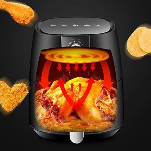 SHYOD Friteuse électrique Automatique sans Huile Frites Frites Machine à Frire sans fumée Multifonctionnel Poulet Frit Poisson rôti Gril