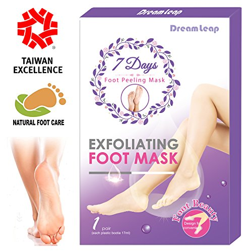 Exfoliating Peel Foot Mask – Callus Removal Foot Mask Pack – 7 Days Get Soft Foot – Natural Foot Mask – Deep Exfoliation for Feet – Foot Peeling off for Dry and Dead Skin (1 Pair)