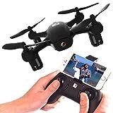 FADER Drone With HD Video Camera - App Live View - Altitude Hold - FPV Quadcopter - Mini Drone With WiFi & Joystick Remote Control