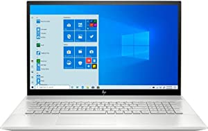 "HP - Envy 17M-CE1013DX 17.3"" Touch-Screen Laptop - Intel Core i7 - 12GB Memory - NVIDIA GeForce MX250 - 512GB SSD + Optane - Natural Silver, Sandblasted Anodized Finish (Renewed)"